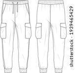 women's high waisted  side... | Shutterstock .eps vector #1939465429