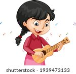 a girl cartoon character... | Shutterstock .eps vector #1939473133
