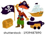 Collection In Pirate Style For...