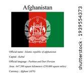afghanistan national flag ... | Shutterstock .eps vector #1939554373