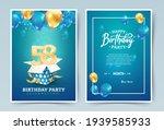 58th years birthday vector...   Shutterstock .eps vector #1939585933