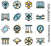 perpetual motion icons set....   Shutterstock .eps vector #1939587403
