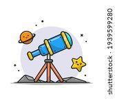 telescope astronomy viewing...   Shutterstock .eps vector #1939599280