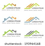 Real Estate vector logo design template. House abstract concept icon.  - stock vector
