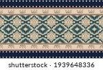 seamless ethnic pattern design... | Shutterstock .eps vector #1939648336