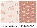 simple irregular boho suns...   Shutterstock .eps vector #1939666006