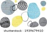 watercolor retro geometric...   Shutterstock .eps vector #1939679410