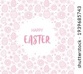 concept of easter greeting card ... | Shutterstock .eps vector #1939685743