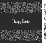 concept of easter greeting card ... | Shutterstock .eps vector #1939685746