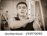 man in the gym | Shutterstock . vector #193970090