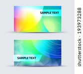 abstract card template for... | Shutterstock .eps vector #193973288
