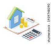 real estate investment ... | Shutterstock .eps vector #1939748290