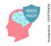 illustration of the mental...   Shutterstock .eps vector #1939750636