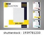 new set of editable minimal... | Shutterstock .eps vector #1939781233