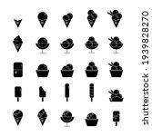 ice cream vector icons set of... | Shutterstock .eps vector #1939828270