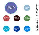 discount labels | Shutterstock . vector #193985789