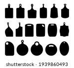 set of cutting board... | Shutterstock .eps vector #1939860493