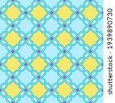 modern tangled lattice pattern... | Shutterstock .eps vector #1939890730