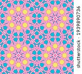 modern tangled lattice pattern... | Shutterstock .eps vector #1939890736