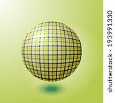 ball with the texture of fabric | Shutterstock . vector #193991330