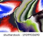 Fractal Background In Vector....
