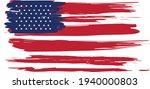 united state ink flag... | Shutterstock .eps vector #1940000803