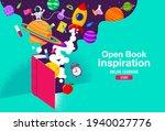 book inspiration  online...   Shutterstock .eps vector #1940027776