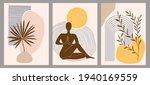 set of trendy abstract creative ... | Shutterstock .eps vector #1940169559