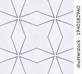 navy geometric drawing.... | Shutterstock . vector #1940182960
