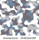 seamless camouflage  pattern.... | Shutterstock .eps vector #1940266189