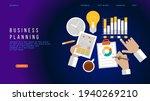 design business planning ... | Shutterstock .eps vector #1940269210