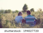 Young Couple Have Romantic Date ...