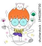 cute cartoon  simple designed...   Shutterstock .eps vector #1940280730
