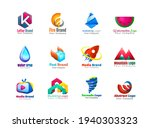 unusual icons set isolated on... | Shutterstock .eps vector #1940303323