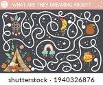 mothers day maze for children.... | Shutterstock .eps vector #1940326876