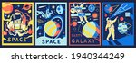 futuristic astronaut posters.... | Shutterstock .eps vector #1940344249