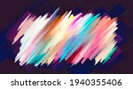 colorful abstract acrylic... | Shutterstock .eps vector #1940355406