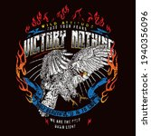 motorcycle with eagle... | Shutterstock .eps vector #1940356096