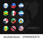 north america countries flags...   Shutterstock .eps vector #1940403373