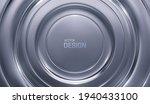 silver radial background....   Shutterstock .eps vector #1940433100