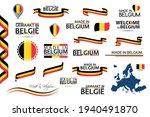 big vector set of belgian... | Shutterstock .eps vector #1940491870