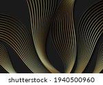 luxury golden wallpaper. art... | Shutterstock .eps vector #1940500960