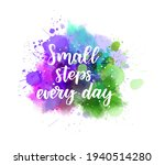 small steps every day  ...   Shutterstock .eps vector #1940514280