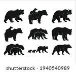 bear bundle printable vector...   Shutterstock .eps vector #1940540989