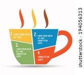 coffee design chart info...   Shutterstock .eps vector #194056313
