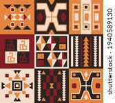 ethnic tribal vector background ... | Shutterstock .eps vector #1940589130