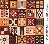 ethnic tribal vector background ... | Shutterstock .eps vector #1940589133