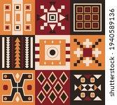 ethnic tribal vector background ... | Shutterstock .eps vector #1940589136