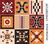 ethnic tribal vector background ... | Shutterstock .eps vector #1940589139
