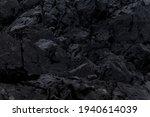 Dark Rocky Abstract Textures On ...